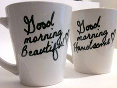 aww cute (Idea: go on a date to Purple Glaze Pottery and make some cute ones!)