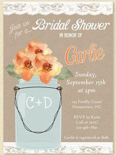 Bridesmaids, get a load of this! Cute Bridal Shower Invite Ideas | Confetti Daydreams ♥  ♥  ♥ LIKE US ON FB: www.facebook.com/confettidaydreams  ♥  ♥  ♥ #Wedding #Bridesmaids #BridalParty
