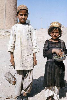 Afghanistan, Herat, children in the street