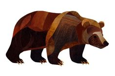 Grizzly Bear / love the wood-y look!