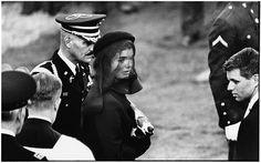 © Elliott Erwitt, Jacqueline Kennedy at John F. Kennedy's funeral. Virginia, USA. November 25, 1963.