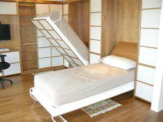 Hidden shoji beds murphy style