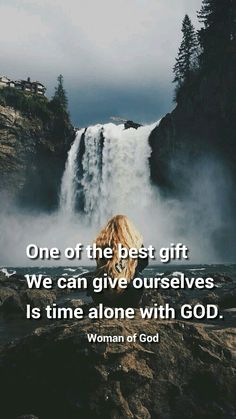 Time with God.
