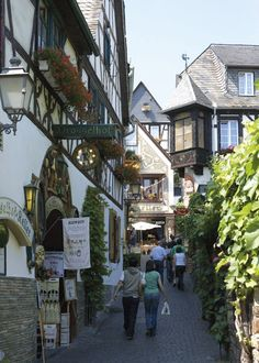 Rudesheim Germany. A beautiful city, very near Wiesbaden, which we visited often.