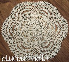 Ravelry: Small Pineapple Doily pattern by Michelle Prieto