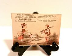 Victorian Advertising Trade Cards Rare by happenstanceNwhimsy, $15.95