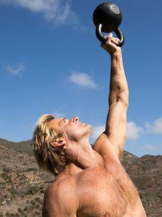 Laird Hamilton's Kettlebell Workout