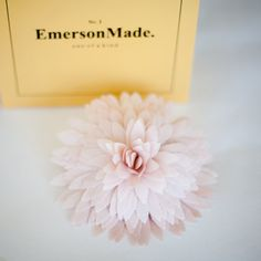Emerson Made Big Dahlia - Blush