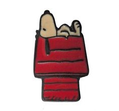 """SNOOPY On DOG HOUSE vintage cloisonne pin snoopy charlie brown peanuts by VintageTrafficUSA 14.99 USD A vintage woodstock pin used but excellent condition. Measures: approx 1"""" 20 years old hard to find vintage high-quality cloisonne lapel/pin. Beautiful die struck metal pin with colored glass enamel filling. These rare pins are proven to win you friends and influence people! Add inspiration to your handbag tie jacket backpack hat or wall. Have some individuality = some flair! You need to act…"""