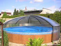 Zastřešení na kruhový bazen, i pro nadzemní Azuro