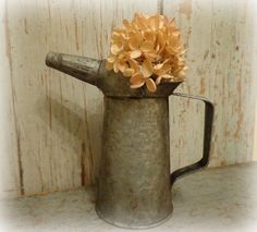 tiny vintage dover oil can / garden watering by AntiqueShopGirl, $21.00