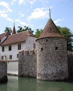 Hallwyl Castle (German: Schloss Hallwyl; IPA: [halˈviːl]) is one of the most important moated castles in Switzerland.
