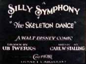 The Skeleton Dance (Walt Disney Studios)