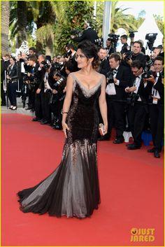 Salma Hayek - Cannes 2012 Gucci