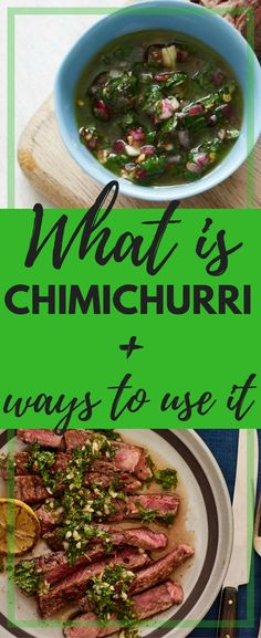 The trick to great tasting meat is keeping it simple, no sauce, no spice rub, but it has to be served with a delicious chimichurri.