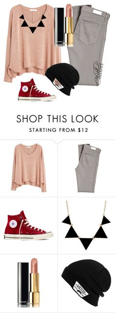 Autumn 2015 by chilluci on Polyvore featuring MANGO, AG Adriano Goldschmied, Converse, Vans and Chanel