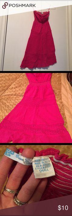 Dress Beautiful pink dress, like new Ocean Drive Dresses