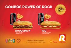 Combos Power of Rock