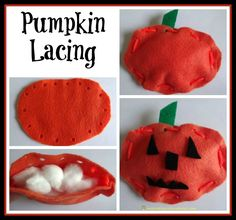 pumpkin lacing