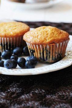 : Philadelphia Cream Cheese Blueberry Muffins}