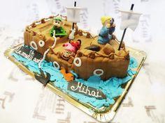 Ship cake by Tuffli www.tuffli.ro