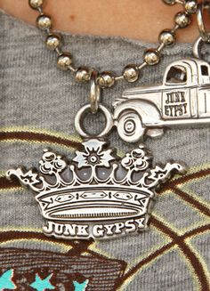 Every Girl must have a JG Crown Pendant!