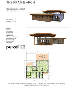 Purcell Timber Frames - The Precrafted Home Company - The Prairie Arch