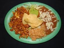 Chorizo Plate from Pico Pica Rico Restaurant in Los Angeles #Food #Chorizo #Restaurant forked.com