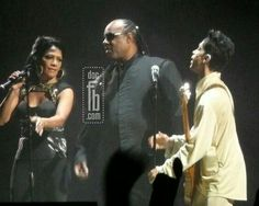 Sheila ° Stevie ° Prince. Beautiful trifecta ●