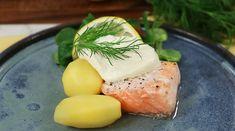 Dill- och citronbakad laxsida med romsås | Recept från Köket.se Food, Essen, Meals, Yemek, Eten