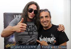 Rencontre avec Nightmare lors du Hellfest 2014