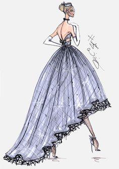 #Hayden Williams Fashion Illustrations  #Hayden Williams Haute Couture FW13 pt4