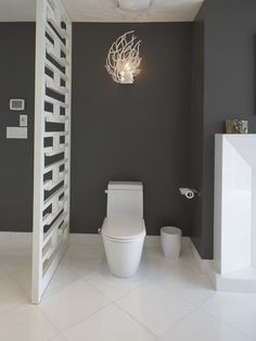 Bathroom Dark Walls Design, Pictures, Remodel, Decor and Ideas - page 2