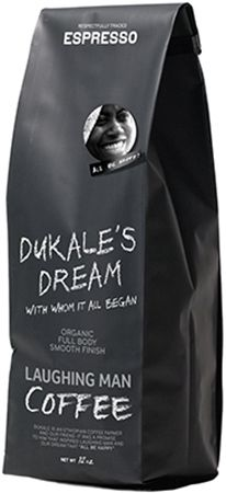 LAUGHING MAN DUKALES`S DREAM ESPRESSO BEANS