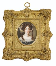 Antiques Edwardian (1901-1910) Trustful Miniature Rococo Style Gilt Gold Frame With Portraite Print Of Child Complete Range Of Articles