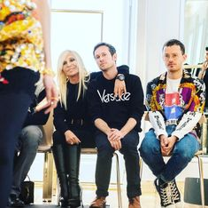 Best team 1 day to go until my Men's Show! Donatella Versace, 1 Day, My Man, Robin, To Go, Couture, Men, Color, Instagram