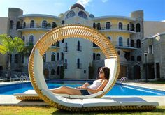 Circle double lounger