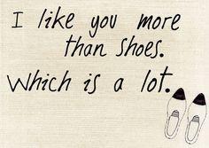 Shoe lovein