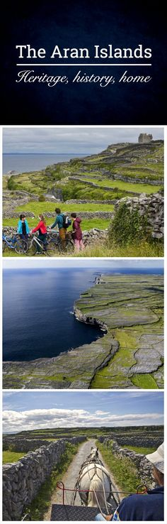 If you're looking for a taste of traditional Ireland in its purest form, then the Aran Islands off the coast of Galway are top of the list. Here you'll find locals who have lived here for centuries, speaking the Irish language and keen to tell you a story or two. Ancient stone walls give way to ancient fortifications, and be sure to get an Aran jumper when you're here – they're a worldwide institution!