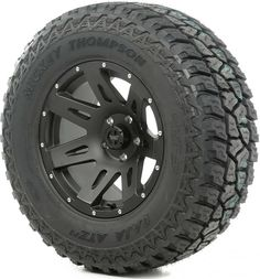 "This wheel and tire package from Rugged Ridge includes a Mickey Thompson ATZ P3 tire mounted on a 17"", 18"" or 20"" XHD alloy wheel.  This tire is mounted and balanced with a TPMS sensor for Jeep® Wrangler JK vehicles."