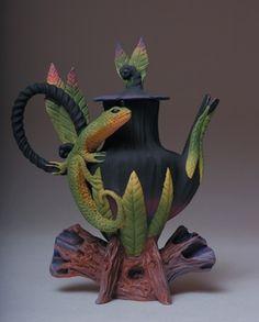very cool tea pot for a special tea party.