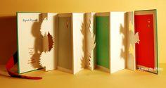 """""""Regards piquants""""    Livre d'artiste pop-up de Jean-Charles Trebbi; reliure de Marjon Mudde"""