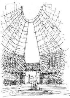 MART sketch by Mario Botta