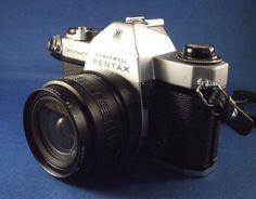 1960's Pentax Honeywell Spotmatic F SLR 35mm Film by JuniperHome