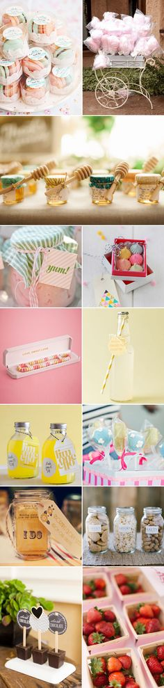 Sweet wedding favors for your guests.