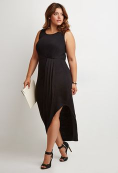 Pleat Panel Dress. F21+ LOVE LOVE LOVE