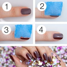 Cómo realizar un sencillo Nail Art en 4 pasos. ¡Ahora te toca!