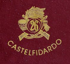 Fregio del 26mo BTGB Castelfidardo Maniago (PN)
