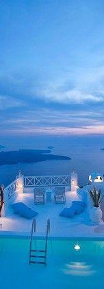Hotel on the Rocks, Santorini, Greece