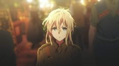 Image about anime in violet evergarden by Violet Evergarden Wallpaper, Manga, Violet Evergreen, Violet Evergarden Anime, Drama, Dusk Till Dawn, Some Beautiful Pictures, Anime Screenshots, Cartoon Shows